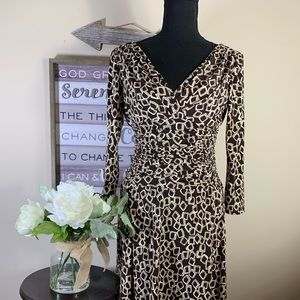 Dress Barn Brown Dress (4)